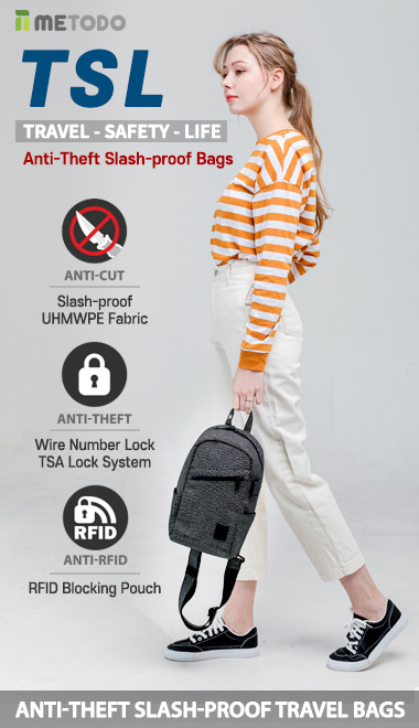 Anti-Theft-Slash-Proof-Bag